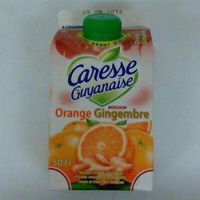CARESSE GUYANAISE ORANGE GINGEMBRE 50CL