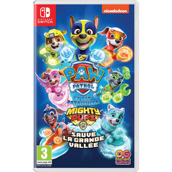 Jeu Switch PAT PATROUILLE Mighty pups save adventure bay!