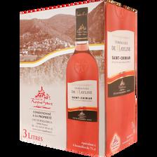 Saint Chinian AOC rosé Terrasses de Mayline Bib 3 litres