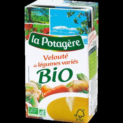 Velouté bio de légumes variés LA POTAGERE, 1l