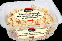 Salade savoyarde aux crozets,jambon et emmental, 300G