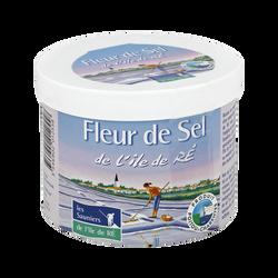 Fleur de sel LES SAUNIERS DE L'ILE DE RE, pot de 125g
