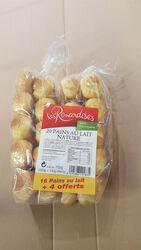 16 pains au lait nature + 4 offerts 700g Les Renardises
