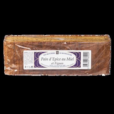 Pain d'épices aux figues tranché RUCHERS DE BOURGOGNE, 300g