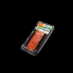 Chorizo grandes tranches bio PROVENCE CHARCUTERIE BIO, x10 soit 80g
