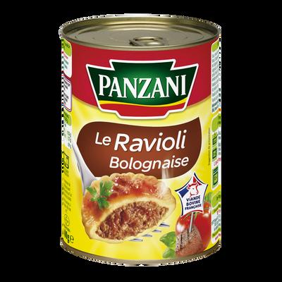 Raviolis bolognaise PANZANI, boîte 1/2 de 400g
