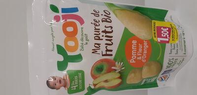 PUREE DE FRUITS BIO DES 4MOIS