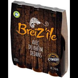 Pack bière Breiz Ile COREFF, 7,5° 3x33cl