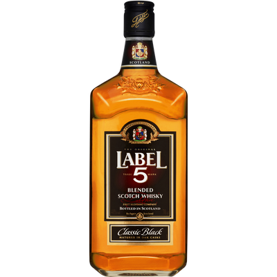 Blended Scotch whisky LABEL 5, 40°, 70cl