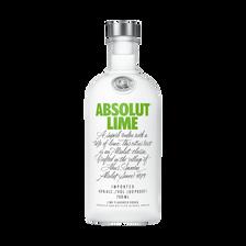 Vodka ABSOLUT Lime c6, vodka aromatisé citron vert RICARD  70cl