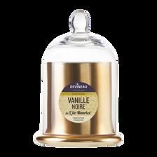 Or Bonbonnière Grand Modèle Sous Cloche Remplie De Bougie Parfum Vanillebourbon De La Réunion,
