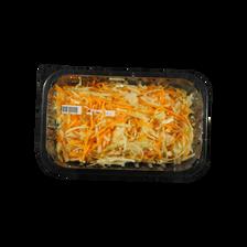 Mélange coleslaw (carotte,chou blanc), barquette 250g