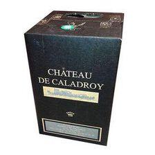 Vin Rouge CRV - CHÂTEAU DE CALADROY - BIB de 5L