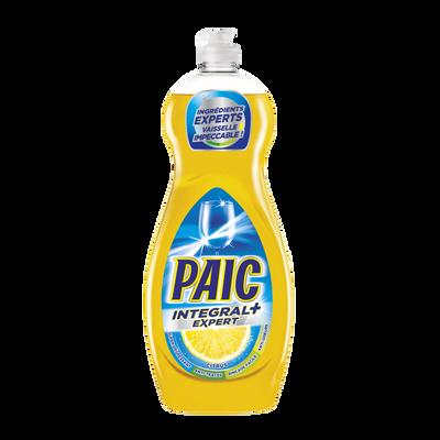 Liquide vaisselle citron integral+ expert PAIC, flacon 750ml
