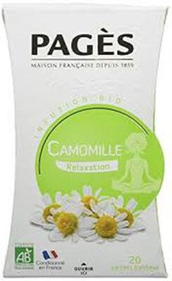 PAGES INFUSION CAMOMILLE MATRICAIRE