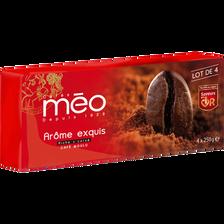 Café moulu arôme exquis MEO,  lot de 4 paquets