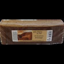 Pain d'épice au miel et écorce d'orange APIDIS, 300g