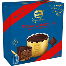 Nestlé Dessert Individuel Royal Choco Signature , Paquet De 4 Coupes, 326g
