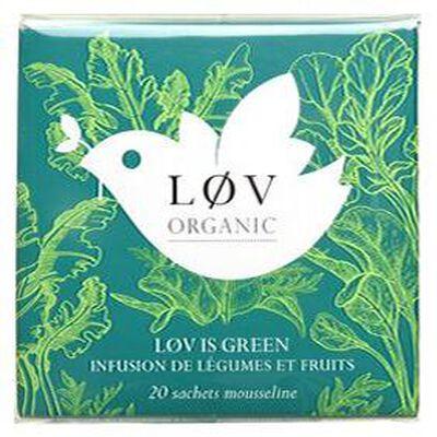 Infusion Love is Green KUSMI TEA