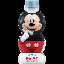 Eau minérale naturelle mascotte Disney EVIAN, bouteille de 31cl