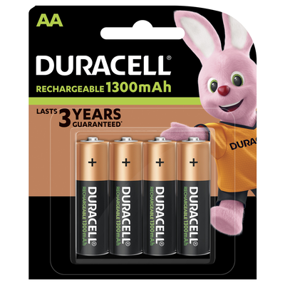 PILE RECHARGEABLE BASIC DURACELL HR6 X4