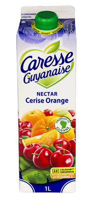 Nectar Cerise Orange, CARESSE GUYANAISE, 1L