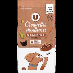 Tendres croquettes p/chien mini boeuf/céréales/légumes U1,5k