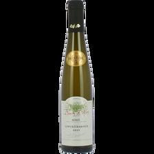 Vin blanc AOP d'Alsace Gewurztraminer Baron de Hoen, 12.5° bouteille de 37,5cl