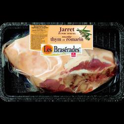 Jarret de porc demi-sel, BRASERADES