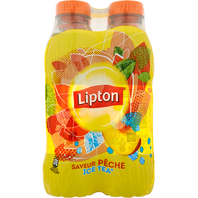 LIPTON Ice Tea pêche, 4x50cl