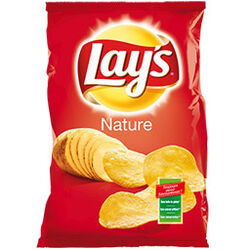 Chips nature LAY'S, paquet de 145g