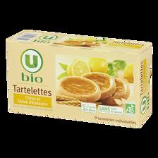 Tartelette au citron et farine d'épeautre U BIO, paquet de 125g