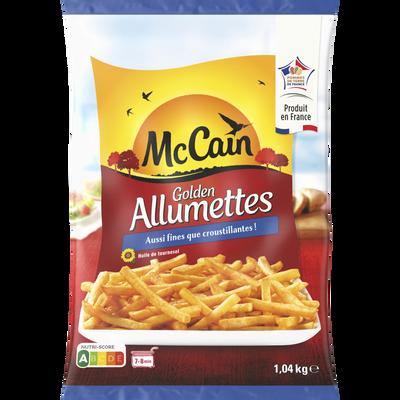 Frites golden allumettes MC CAIN, 1,040kg