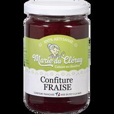 Confiture de fraise de Plougastel LA MARIE DU CLERAY, 350g
