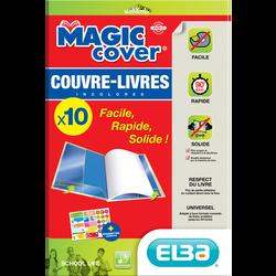 Couvre livre ELBA Magic cover, pack de 10