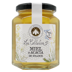 Miel d'acacia de France la collection LES APICULTEURS ASSOCIES, 375g