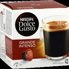 Café en capsules Grande Intenso DOLCE GUSTO, 160g