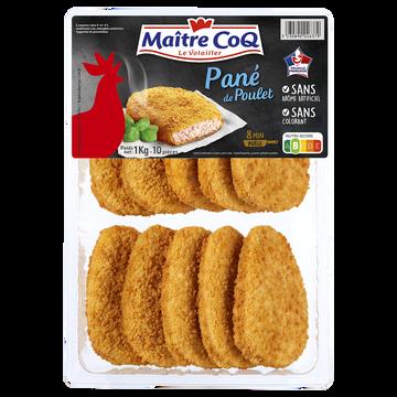Maître Coq Panés Au Poulet, Maitre Coq, France, Barquette 1kg