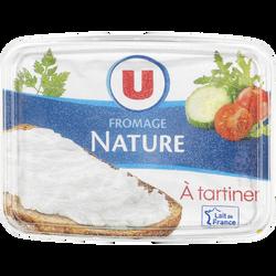 Fromage nature au lait pasteurisé U, 21,5% de MG, 300g
