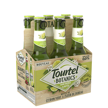 Tourtel Twist Bière Sans Alcool Botanics Citron Et Fleur De Sureau Tourtel, 0°, 6x27,5cl