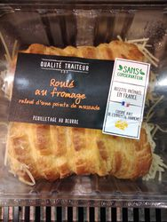 ROULE AU FROMAGE 2X120G