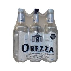 OREZZA EAU GAZEUSE PET 6X1L