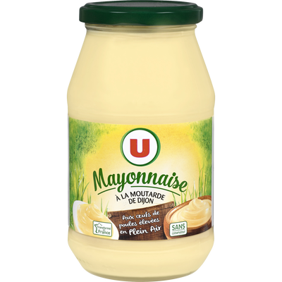 Mayonnaise U, bocal de 470g