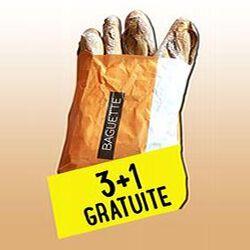 BAGUETTE  DE TRADITION  3+1 GRATUITE 1KG
