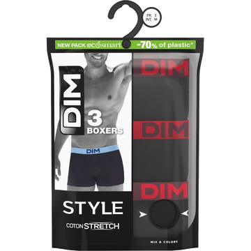 Dim Boxers Homme Mix And Colors Athena X3