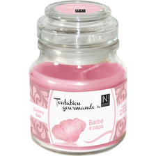 Bougie tentation gourmande barbe à papa by INCANTO, 130g