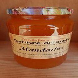 Confiture Mandarine Recette du JURA 430g