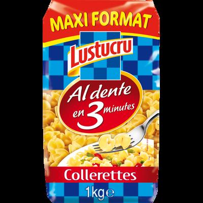 Collerettes al dente cuisson rapide LUSTUCRU, 1kg