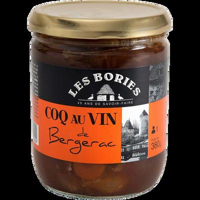 Coq au vin de Bergerac LES BORIES, 380g