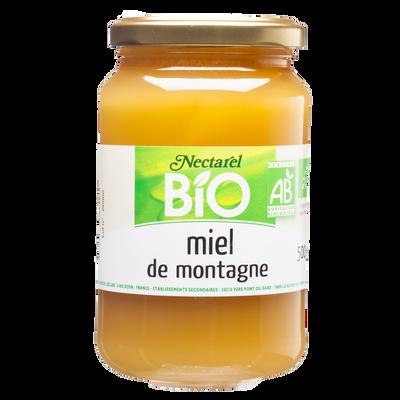 Miel de montagne France bio NECTAREL, 500g